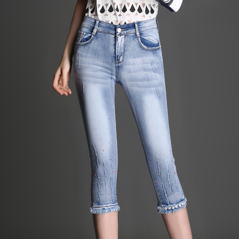 Online Get Cheap Ladies Rhinestone Jeans -Aliexpress.com | Alibaba ...