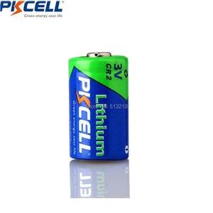 Image 2 - 8 قطعة * PKCELL CR2 15270 CR15H270 3V 850mAh CR2 3V بطارية ليثيوم ل كاميرا ، معدات طبية