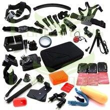 Ms.L.Meilyadigital for Gopro Accessories kits for go pro hero 5 4 3 3+ mount for SJCAM SJ4000 / xiaomi yi camera