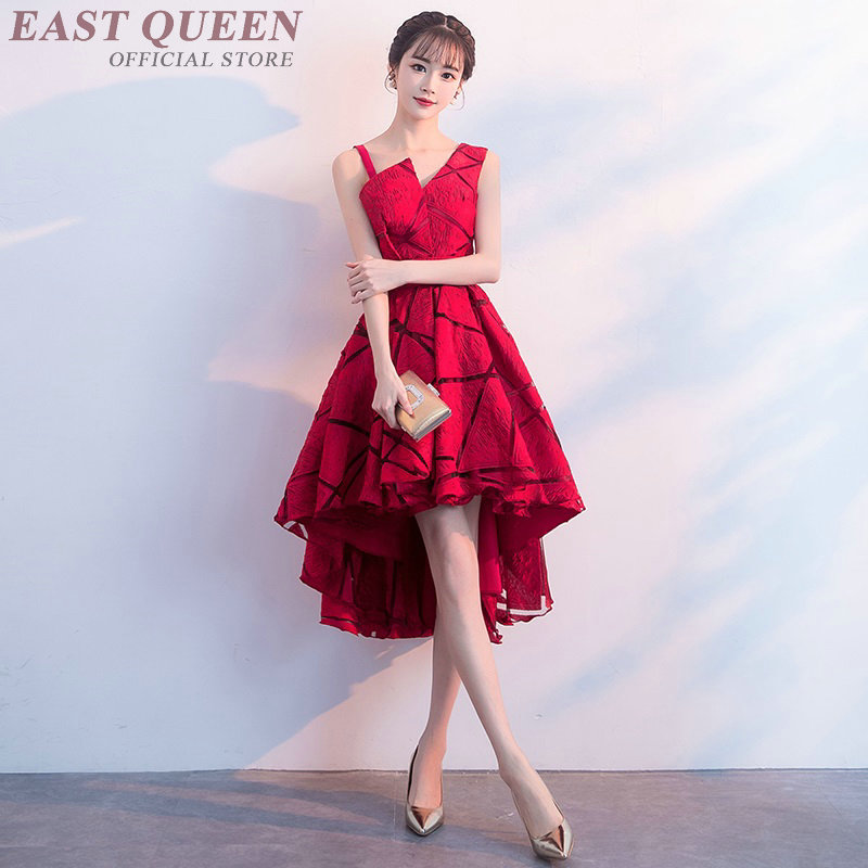 Chinese wedding dress traditional oriental style <font><b>2018</b></font> <font><b>bridal</b></font> <font><b>gown</b></font> bridesmaid dresses ceremony festival qipao dress AA3962 image