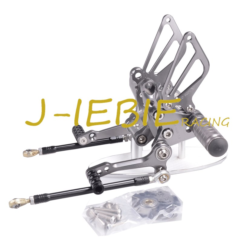 CNC Racing Rearset Adjustable Rear Sets Foot pegs Fit For Ducati 848 1098 1198 R/S R S TITAINUM cnc racing rearset adjustable rear sets foot pegs fit for ducati streetfighter 848 1098