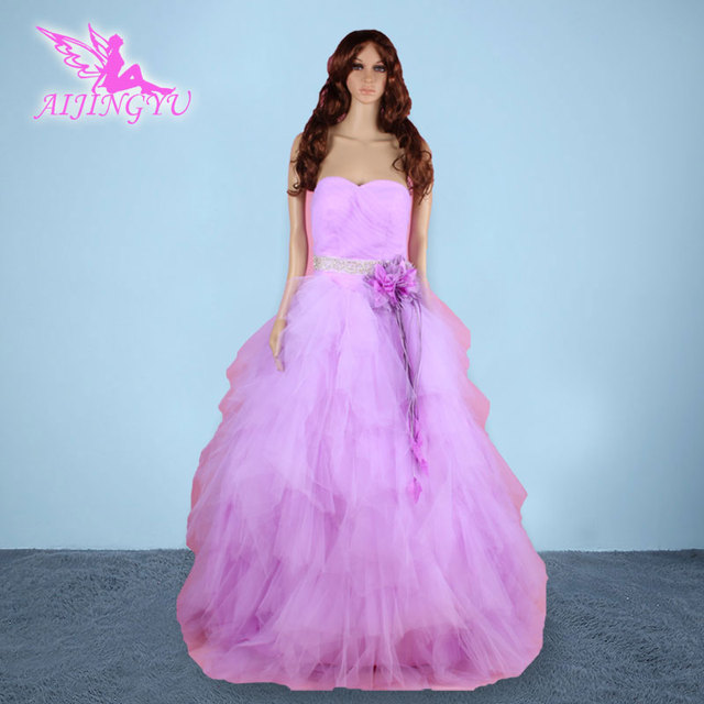 AIJINGYU 2018 new free shipping wedding dresses turkey sexy women girl good bride  wedding dress strapless real photo gown sy115 76d08e7126a5