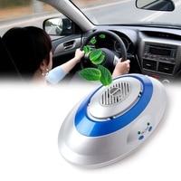 Mini Frais De Voiture Filtre À Air Purificateur Mini Générateur D'ozone de Recyclage Filtre