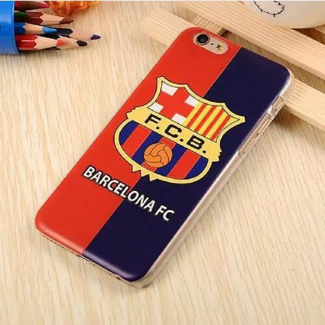 For iPhone 6 6S 6/6S Plus Case HIgh Quality European Football Team Badge Plastic Style Case Cover Fundas Fashion Phone Shell
