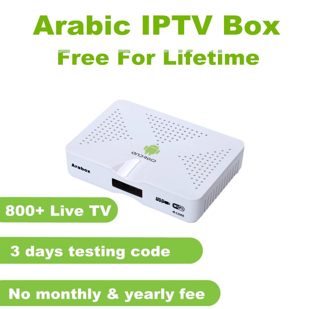Meilleur Arabe boîte d'iptv soutien IPTV Arabe/Suédois/Afrique/chaînes tv box, livraison pour vie arabe iptv boîtier de smart tv