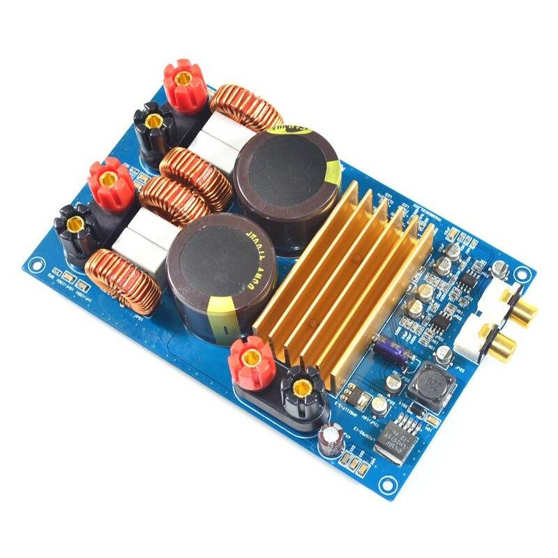 KYYSLB класс D усилитель мощности TPA3255 2,0 цифровой усилитель мощности плата 300 Вт + 300 Вт оригинальный TPA3255 LM2575S-12