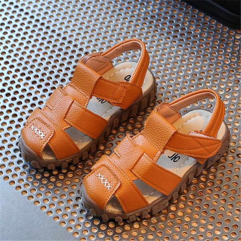 MHYONS 2019 เด็กรองเท้าแตะสำหรับโรงเรียนหญิงรองเท้า Pearl Beading สีชมพูแบนรองเท้า Gladiator โรมันรองเท้าแตะเด็กหญิงรองเท้า