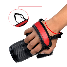 Leather Camera Wrist Hand Strap Belt Grip Durable Straps for Sony Canon Nikon Accessories