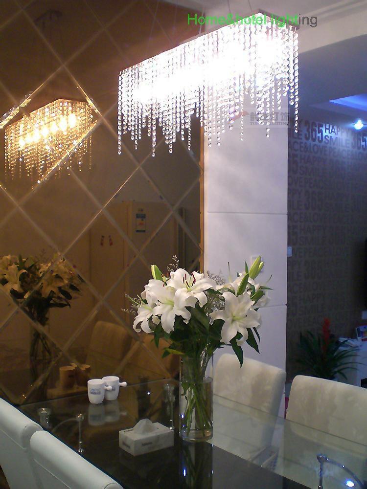 Modern Crystal Chandelier Dining Room Modern Led Crystal