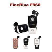 100% Originale Fineblue F960 беспроводной драйвер гарнитура Bluetooth звонки напомнить вибрации одежда спортивные наушники для телефона