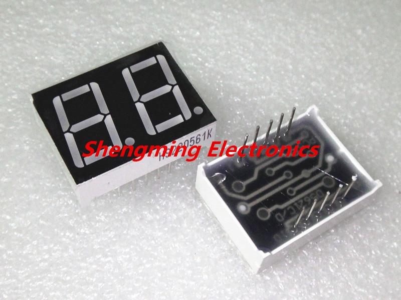 50PCS 0.56 inch 1 digit 7 segment Common cathode Red Led display