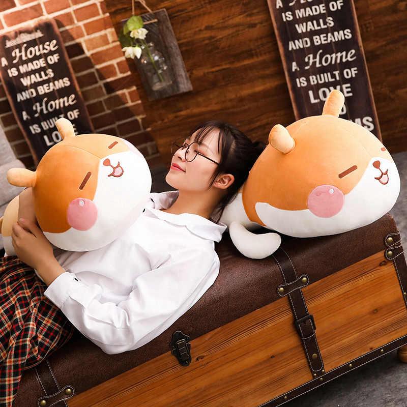 35 cm/55 cm/65 cm grande mole pelúcia animais brinquedos recheados bonito pelúcia hamster travesseiro sofá almofada aniversário presentes dos namorados crianças presente