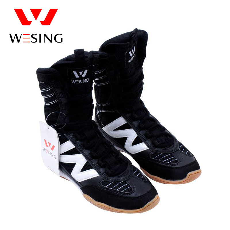 wesing boxing shoes kick boxing shoes wrestling shoes for training and competetiong wesing boxing kick pad focus target pad muay thia boxing gloves bandwraps bandage training equipment