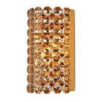 Royal Luxury Кристалл Золотой Спальня настенный светильник Современные Золотой База Ванная комната Бра настенное коридор Санузел бра