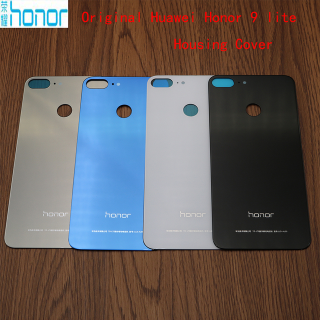 Original Glass Rear Housing Cover For HUAWEI Honor 9 Lite,Replacement Back  Door Hard Battery