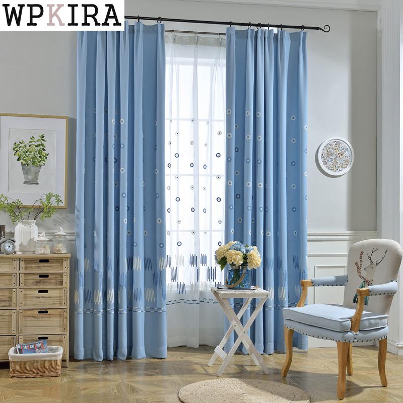 Blau Gardinen-kaufen Billigblau Gardinen Partien Aus China Blau ... Design Gardinen Wohnzimmer