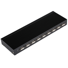 MT-Viki 8 Port DVI Splitter Video Distributor 1×8 DVI-I DVI-D 24+1 24+5 Compatible 2048×1536 High Resolution Image Duplicate