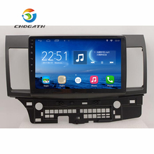 Chogath 10.2 дюймов Android 6.1.1 GPS навигации для 2008-2015 Mitsubishi Lancer 10 Радио с Сенсорный экран DVR Wi-Fi Bluetooth