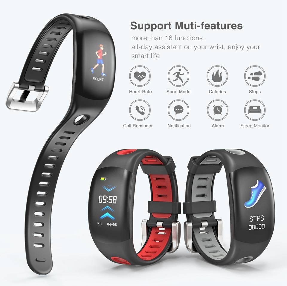 Fitness Bracelet with Activity Tracker 8