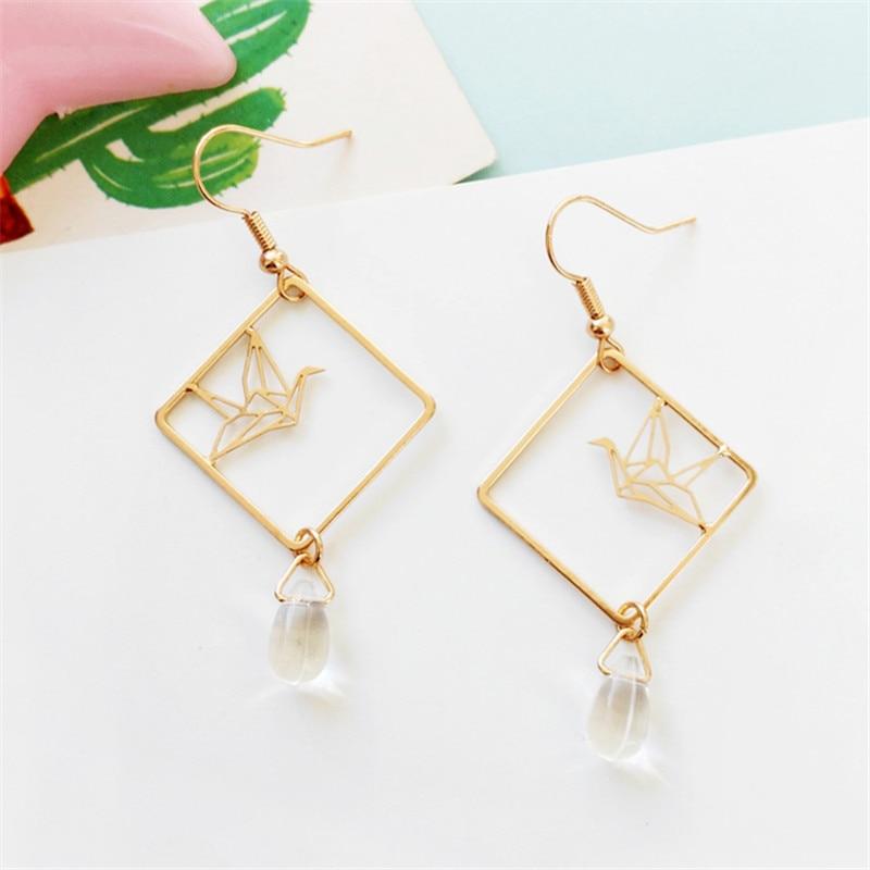 Original design fashion girl temperament feeling drop earrings earrings hollow out art wholesale fashion popular earrings 3