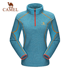 Camel camel for outdoor breathable ultra-light fleece clothing Women windproof thermal fleece clothing