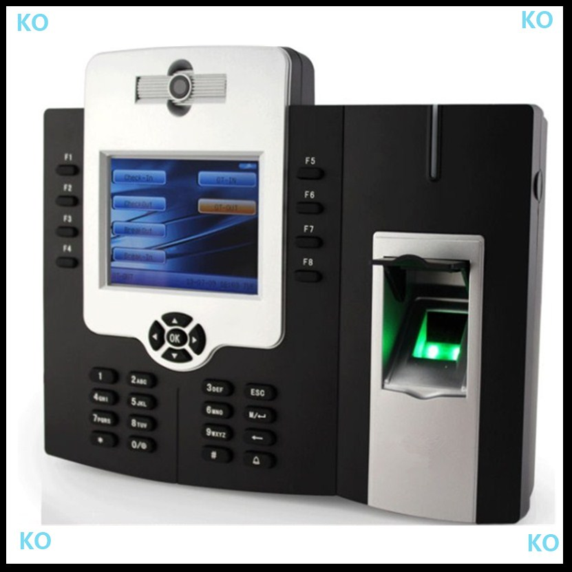 Free Shipping IClock 880 Fingerprint Time Record System Biometric Time Attendance/time Attendance Camera
