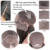 Recta Gluless Superior de Seda Pelucas Llenas Del Cordón Peruano Seda Base Top Pelucas Delanteras del cordón Vírgenes Llenas Del Cordón Pelucas de Pelo Humano Para Negro mujeres