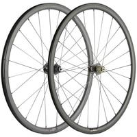 700C Road Disc brake Carbon Wheels 15mm 12mm/ 12x142mm 30mm Bicyle wheels Cyclocross Wheelset Mac aero Spokes