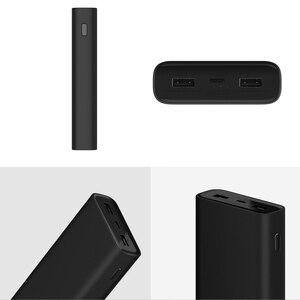 Image 3 - Xiaomi Mi Power Bank 3 cargador portátil de 20000mAh, fuente de alimentación, USB C USB Dual, batería externa de carga rápida bidireccional, novedad