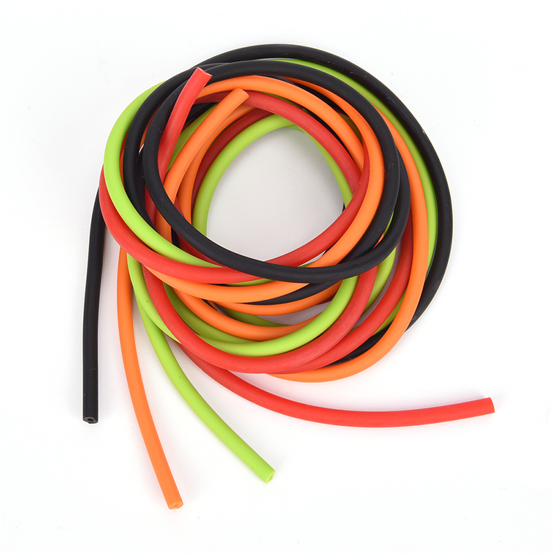 1Meter Latex Slingshots Rubber Tube Tubing Band For Slingshot Hunting Catapult Elastic Part Fitness Bungee 1.8x4.2mm