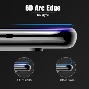 Image 3 - TOMKAS 6D/5D Protective Glass For Oneplus 7T Tempered Glass Screen Protector Film For Oneplus 7 6 5 5T Protective Glass One Plus