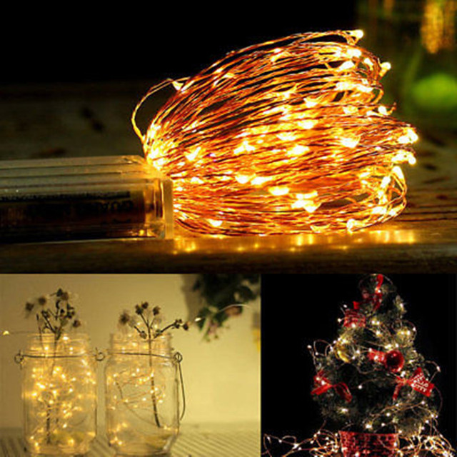 fashion led string lights xmas lighting christmas lamp fairy wedding party garden outdoor decor glow party