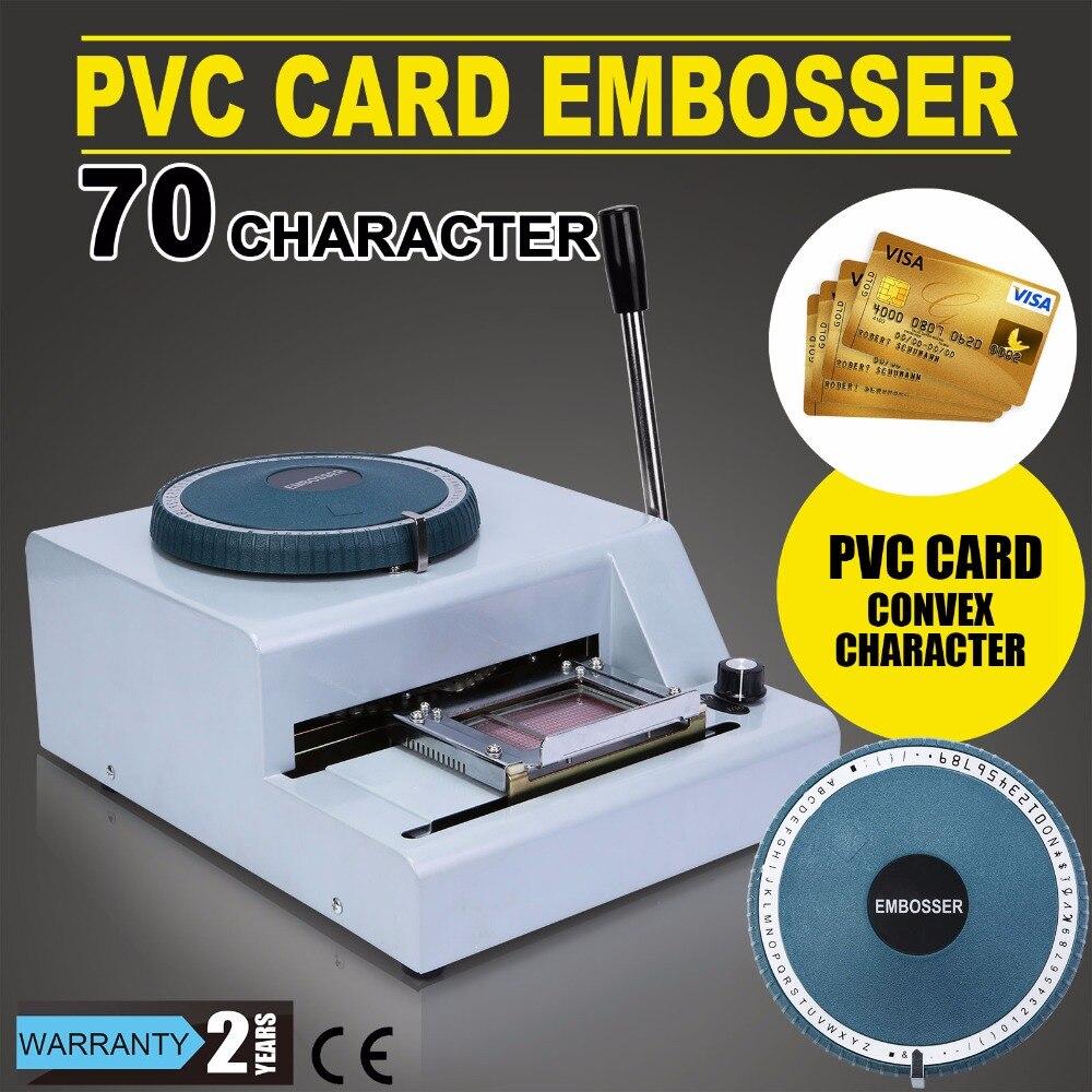 Amazon. Com: credit card embossing plastic manual embosser machine.