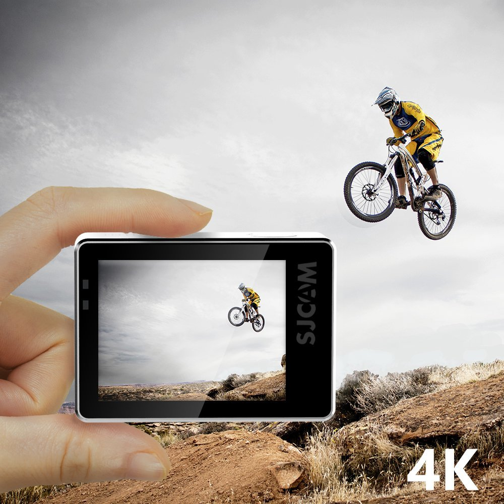 """Image 3 - Original SJ7 Star 4K 30fps Ultra HD SJCAM Action Camera Ambarella A12S75 2.0"""" Touch Screen 30M Waterproof Remote Sport DV-in Sports & Action Video Camera from Consumer Electronics"""