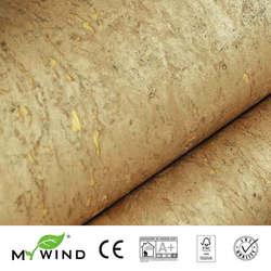 2019 MEIN WIND 14 k GOLD Kork Tapeten Luxus 100% Natürliche Material Sicherheit Unschädlichkeit 3d Tapete In Rolle Wohnkultur luxuriöse