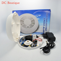 GSM Photoelectric Smoke Detector Compatible With UL217 Standard Home Security Fire Alarm