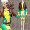 X Men Rogue Costume Cospaly Marvel Comics Superhero Cosplay Costume Mary Adult Women Full Set Leather