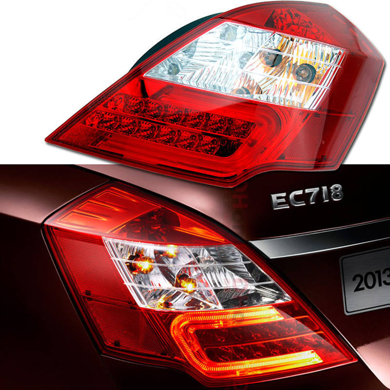 Geely Emgrand 7,EC7,EC715,EC718,Emgrand7,E7,Car right left Taillights,Rear lights, Brake light,Original коврик в багажник geely emgrand ec7 rv 2011