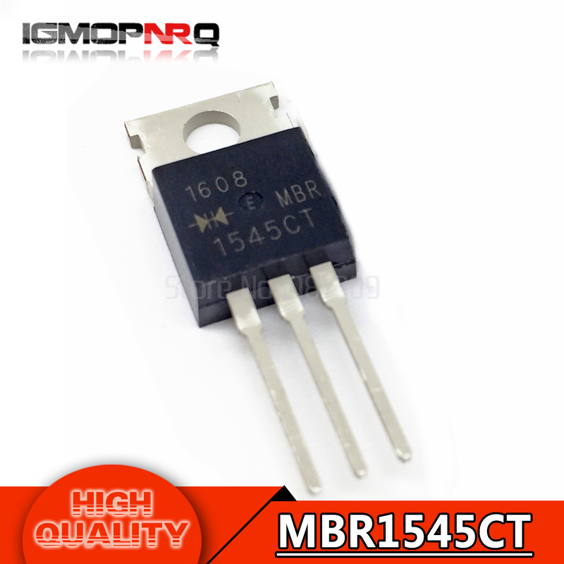 10pcs MBR1545CT TO-220 B1545G TO220 MBR1545CTG