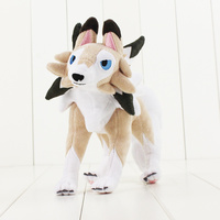 22 30cm Lycanroc Cute Animal Doll Toy Hot Japanese Anime Action Figure Stuffed Soft Doll Toy