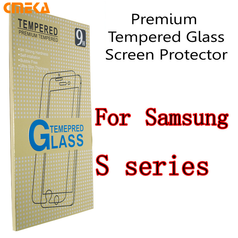 For Samsung S7 Series 9H 2.5D Tempered Glass Screen Protector with Ultra High Definition Invisible Anti-Bubble Crystal Shield