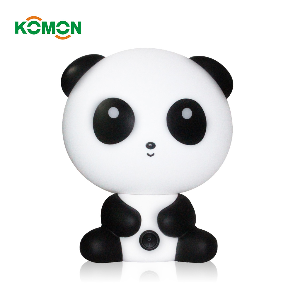 Baby Bedroom Lamps Child Night Light Cartoon Pets Rabbit Panda PVC Plastic Sleep Led Kid Lamp Bulb Nightlight for Children