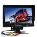 High Quality 7 Inch Car Parking Monitor 480x234 Resolution Vehicle Reversing Rear View Backup Camera Reverse System