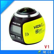 Discount! 360 panoramic camera traveling data recorder VR virtual reality motion camera digital camera 360 movement DV