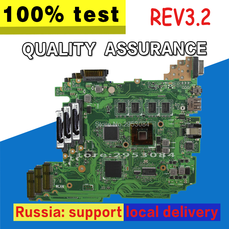 X101CH Motherboard REV3.2 1G For ASUS X101CH Laptop motherboard X101CH Mainboard X101CH Motherboard test 100% OK цена