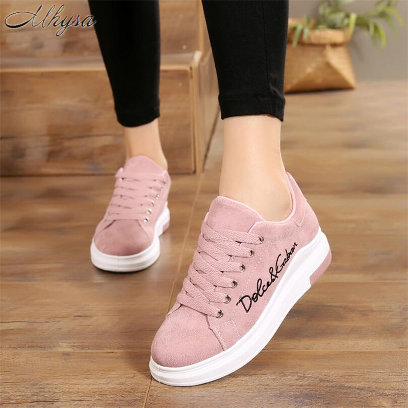 Mhysa 2019 New Spring And Autumn Fashion Wild Low To Help Comfort Solid Color Lace Up Sneakers Casual Shoes White Shoes L033