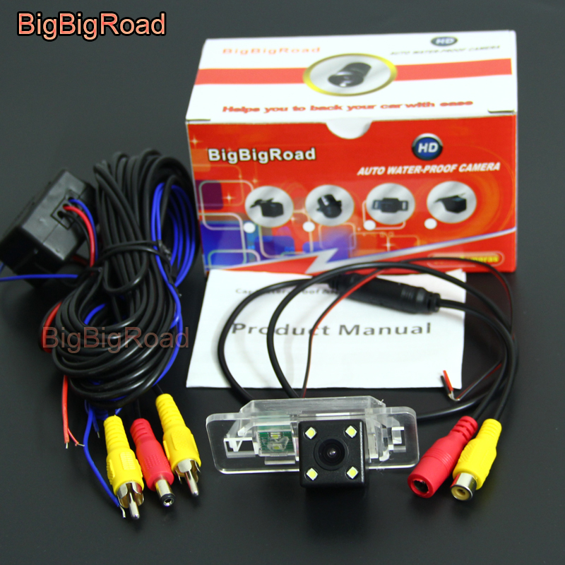 BigBigRoad For BMW Mini Cooper R50 R52 R53 R56 M3 3 E46 E90 E92 E83 E93 Car Rear View Reverse Parking CCD Camera Waterproof