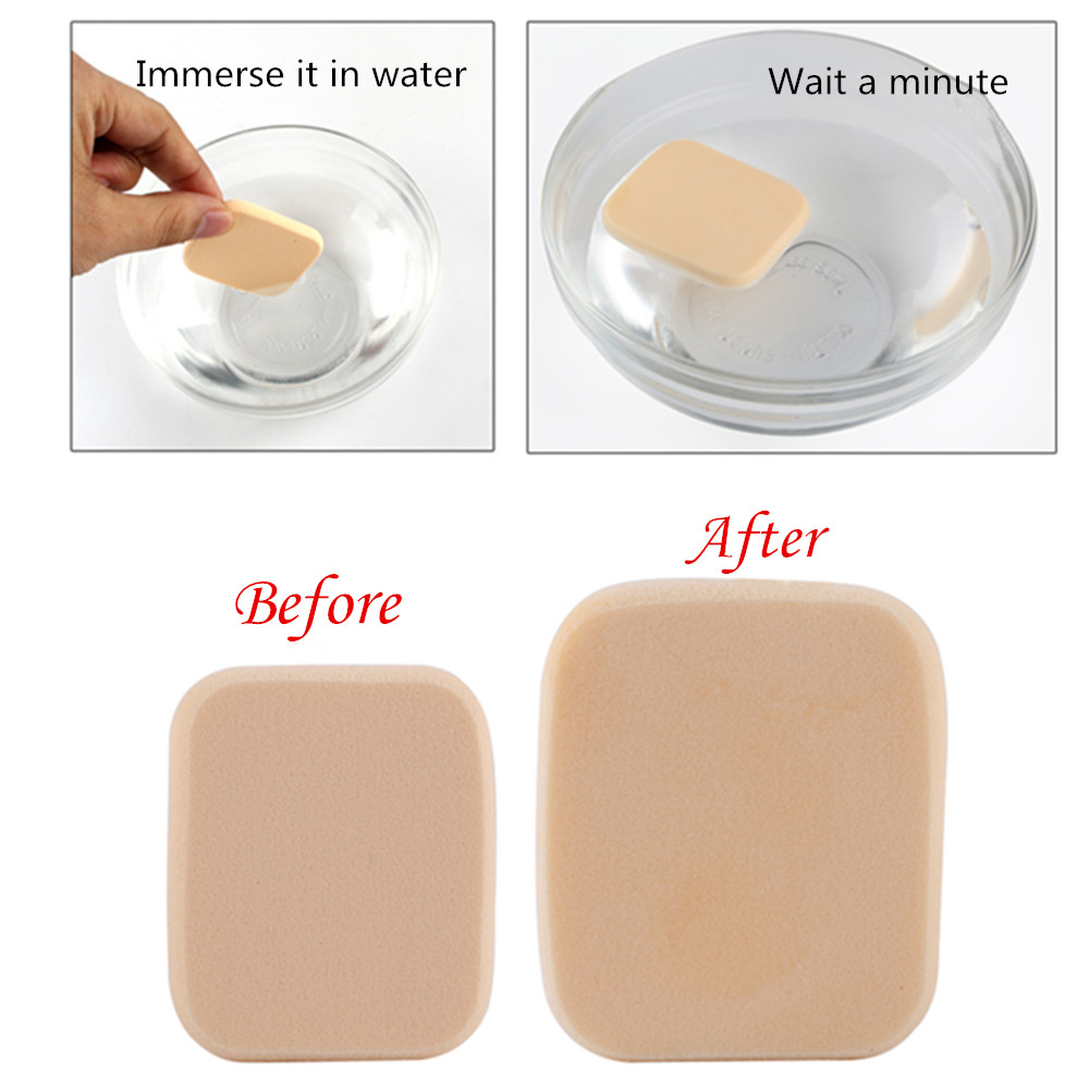 10Pcs pack Wet Dry Dual Use Mekeup Sponge Women Lady Makeup Foundation Contour Facial Flawless Smooth Soft Puff in Cosmetic Puff from Beauty Health