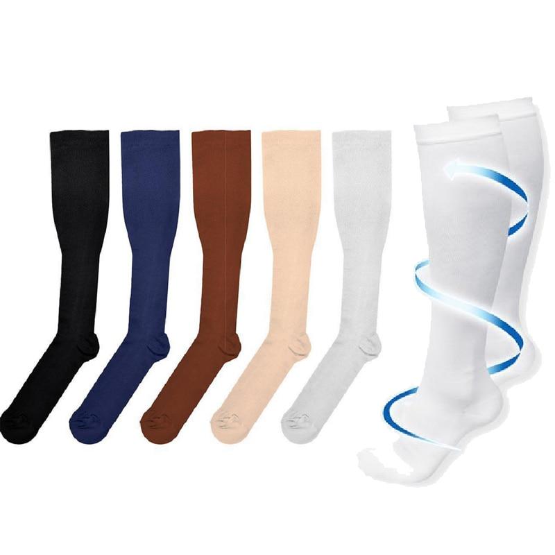 Hot Sale Compression   Socks   for Men Women   Socks   for Nurses Medical Graduated Nursing Travel Pressure Circulation Anti-Fatigu Soc