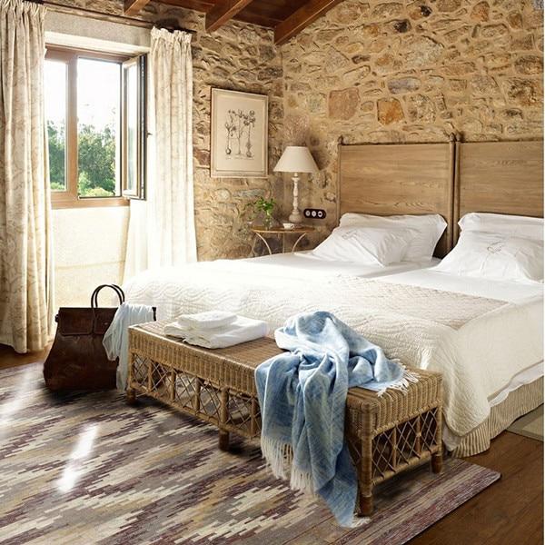 Inde Sumac tapis/tissage manuel/laine tapis/couleur lumineuse douce mélangée Blanketgc195kliyg28